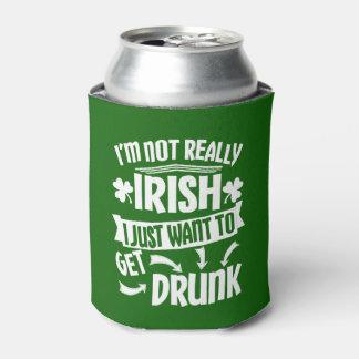 おもしろいなSaint patricks day私は実際にアイルランドビールではないです 缶クーラー