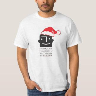 おもしろいなSPASBSのTシャツの~のクリスマスのギャグのギフト Tシャツ