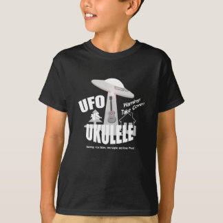 おもしろいなUFO対ウクレレ Tシャツ