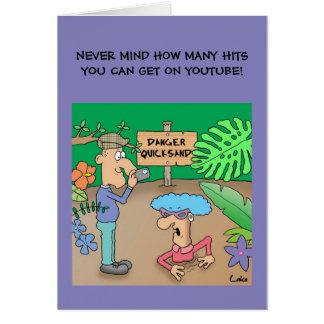 おもしろいなyoutube衝突漫画の気紛れな事故カード カード