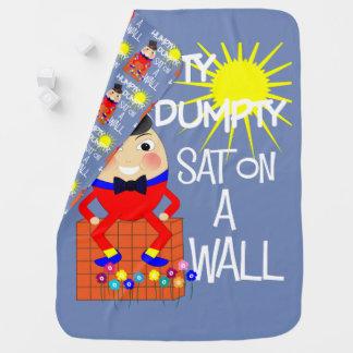 おもしろいのかわいいすてきな童謡Humpty Dumpty ベビー ブランケット