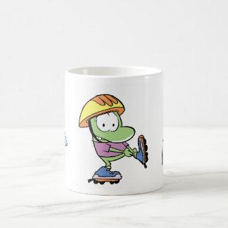 おもしろいのカエルの漫画 モーフィングマグカップ
