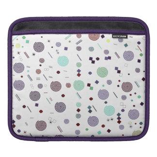 おもしろいのカラフルな泡円のデザインのIpadの袖 iPadスリーブ