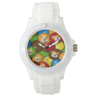 おもしろいのコーギーキャンデー 腕時計
