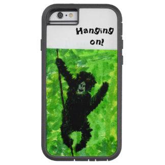おもしろいのゴリラ猿の芸術 TOUGH XTREME iPhone 6 ケース