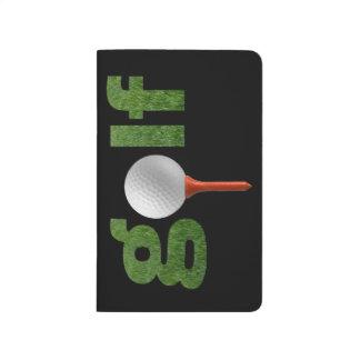 おもしろいのゴルフスポーツのデザイン ポケットジャーナル