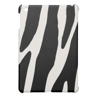 おもしろいのシマウマは縞で飾ります iPad MINIケース