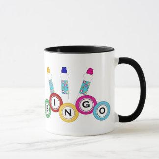おもしろいのビンゴのDabberのマグ マグカップ