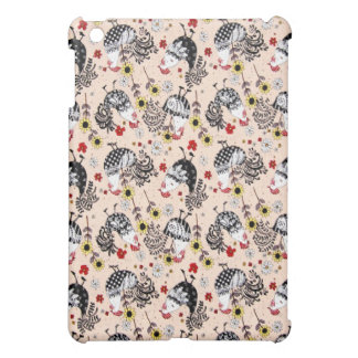 おもしろいのファンキーなオンドリ iPad MINI カバー