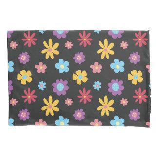 おもしろいのファンキーな春の花パターン 枕カバー