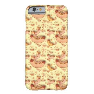 おもしろいのホットドッグのフランクフルトソーセージのiPhone 6/6sの場合 Barely There iPhone 6 ケース
