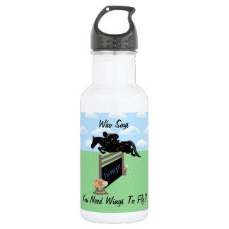 おもしろいの乗馬の馬のジャンパー ウォーターボトル