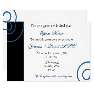 おもしろいの企業のなパーティの招待状 カード