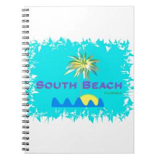 おもしろいの南ビーチ、フロリダ ノートブック