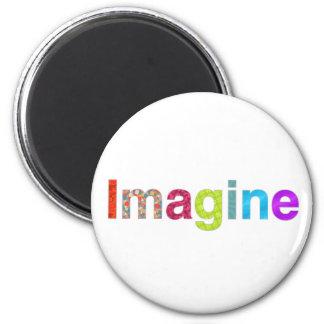おもしろいの多彩なインスピレーションのギフトを想像して下さい マグネット