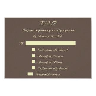 おもしろいの応答の応答カスタムな結婚RSVPの招待状 8.9 X 12.7 インビテーションカード