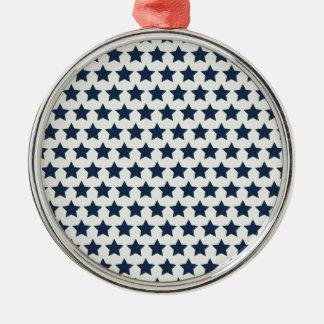おもしろいの愛国心が強い濃紺は7月パターンの第4を主演します メタルオーナメント