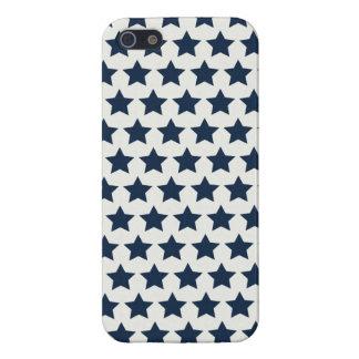 おもしろいの愛国心が強い濃紺は7月パターンの第4を主演します iPhone 5 カバー