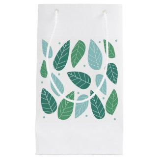 おもしろいの春の葉 スモールペーパーバッグ