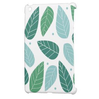 おもしろいの春の葉 iPad MINIケース