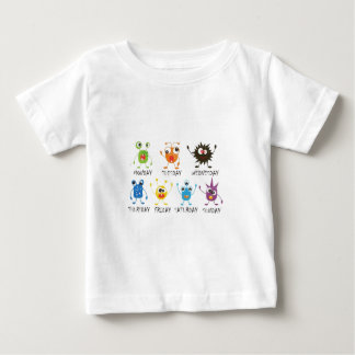 おもしろいの服装 ベビーTシャツ