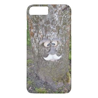おもしろいの木の顔 iPhone 8 PLUS/7 PLUSケース