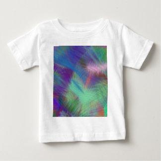 おもしろいの粋ないくじなしの女の子のスランバー・パーティーをカラフル着色して下さい ベビーTシャツ