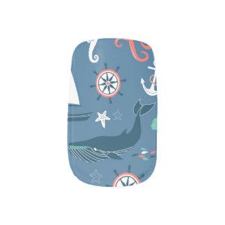 おもしろいの航海ので写実的なパターン ネイルアート
