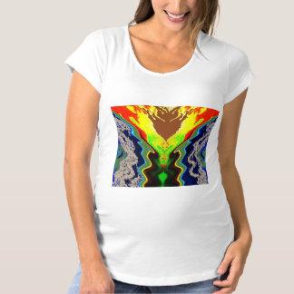おもしろいの芸術的で装飾的な記号 マタニティTシャツ