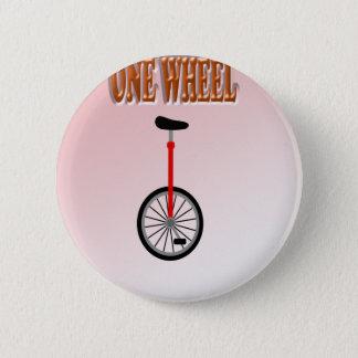 おもしろいの菓子1の車輪 5.7CM 丸型バッジ