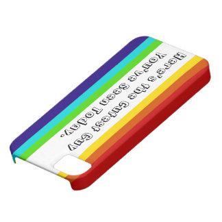 おもしろいの虹のiPhone 5/5Sの場合 iPhone SE/5/5s ケース