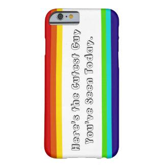 おもしろいの虹のiPhone 6case Barely There iPhone 6 ケース