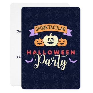 おもしろいの衣裳のハローウィンパーティの招待状 12.7 X 17.8 インビテーションカード