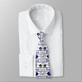 おもしろいの警察は仕事のタイを模造します オリジナルネクタイ