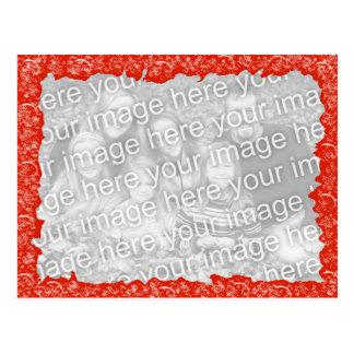 おもしろいの赤い写真の名声 ポストカード