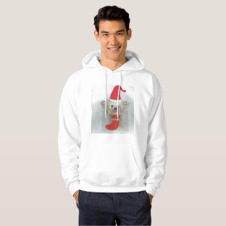 おもしろいの醜いクリスマスのセーターのフード付きスウェットシャツ パーカ