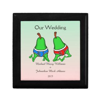 おもしろいの陽気な組のPeartの結婚式の記念品 ギフトボックス