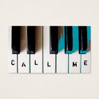 おもしろいの音楽業界カードテンプレート 名刺
