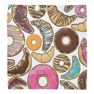 おもしろいの風味がよいドーナツのデザイン バンダナ