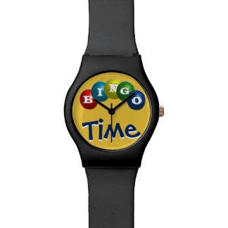 """おもしろいの""""ビンゴの時間""""腕時計 腕時計"""