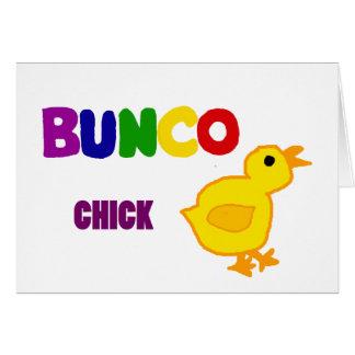 おもしろいのBuncoのひよこの芸術 カード