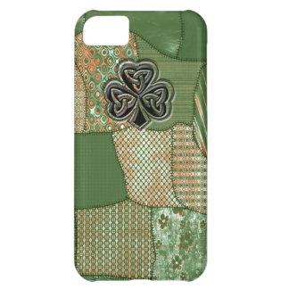 おもしろいのgrundgeのアイルランドの幸運なシャムロック iPhone5Cケース