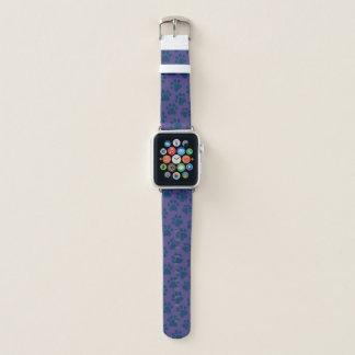 おもしろいのPawPrintの時計バンド Apple Watchバンド