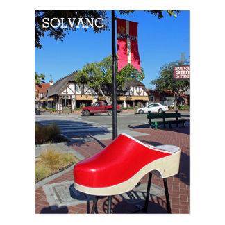 おもしろいのSolvangの郵便はがき! ポストカード