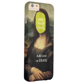 """おもしろいカスタマイズ可能なレオナルド・ダ・ヴィンチ""""モナ・リザ""""… CL BARELY THERE iPhone 6 PLUS ケース"""