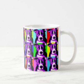 おもしろい及びカラフルなピット・ブルのコーヒーカップ-トレンディー及びお尻 コーヒーマグカップ