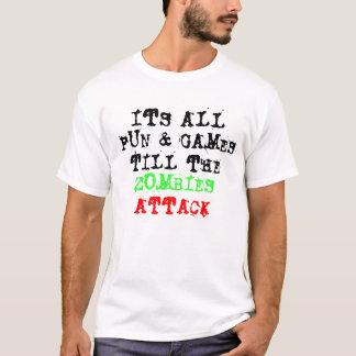 おもしろい及びゲーム Tシャツ
