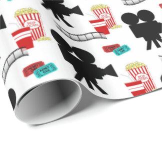 おもしろい映画恋人のパーティーによってタイルを張られる覆い 包み紙