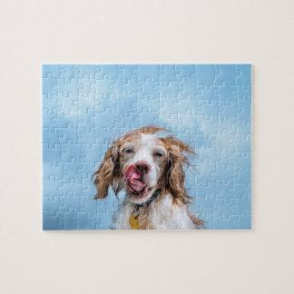 おもしろい犬のジグソーパズル ジグソーパズル
