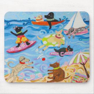 おもしろい犬のマウスパッド マウスパッド